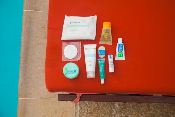 amostra de produtos
