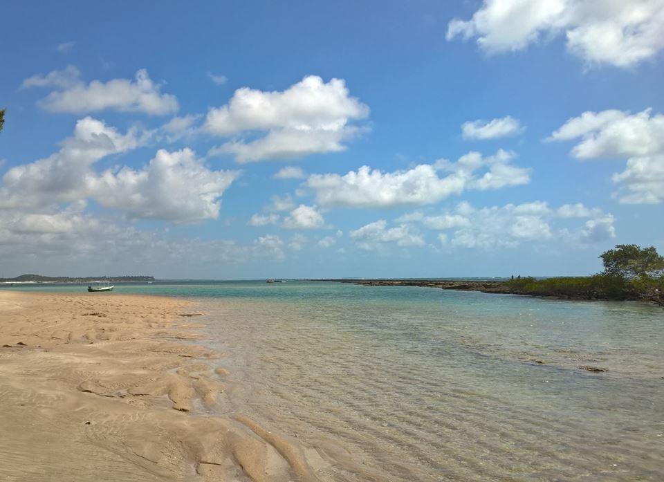 vista do mar na praia dos carneiros