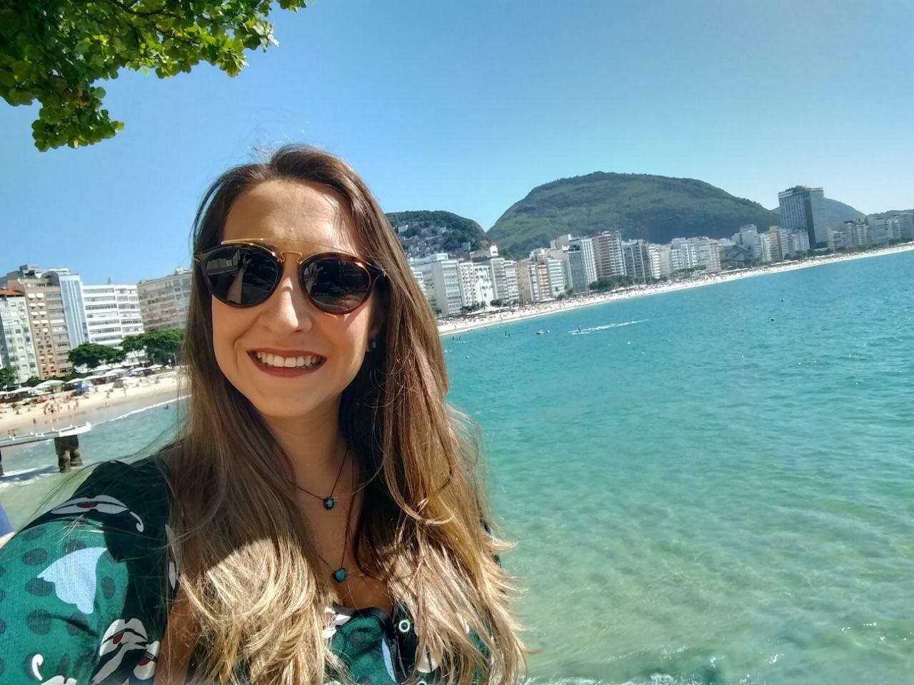 copacabana uma das praias do brasil