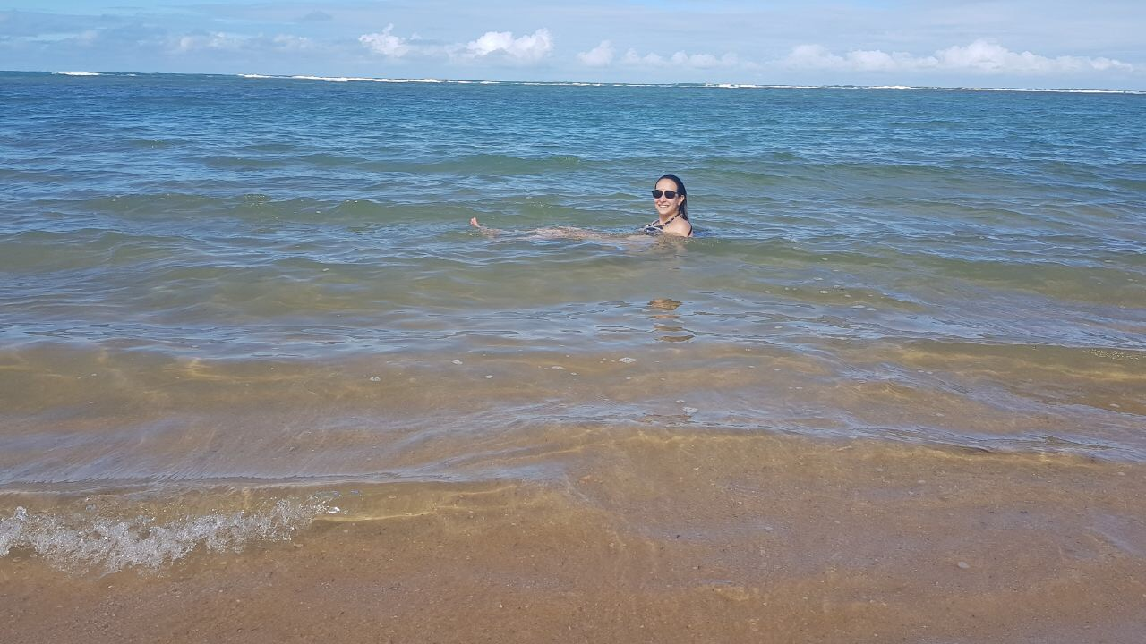 mar da praia de itapororoca