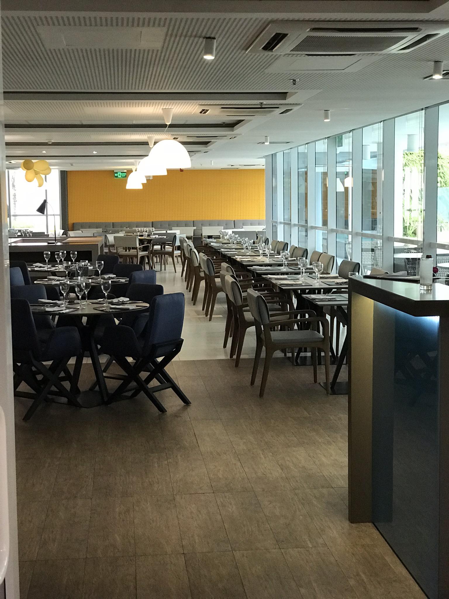 restaurante do novotel parque olímpico