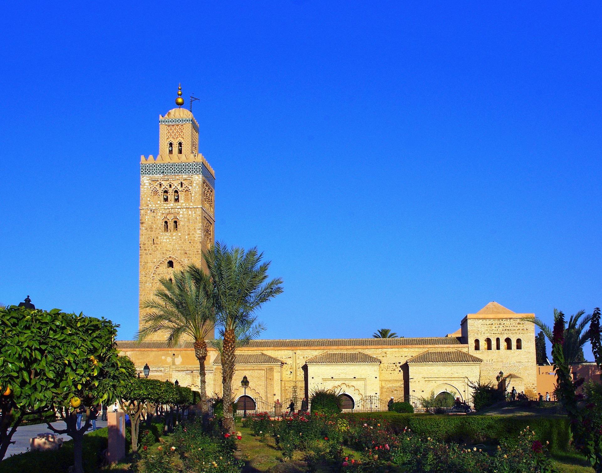 Mesquita Koutoubia Rota Amada